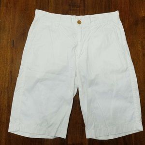 J.Crew Flat Front White Shorts - W29